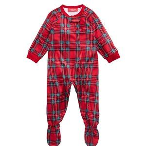 NWT Family Pajamas Baby Matching Plaid PJ Set